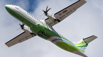 A picture of ECMMM - ATR 72600 - Binter Canarias - © Besay Cabrera