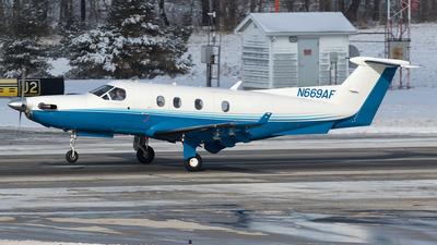 A picture of N669AF - Pilatus PC12/45 - [669] - © Felipe Garcia