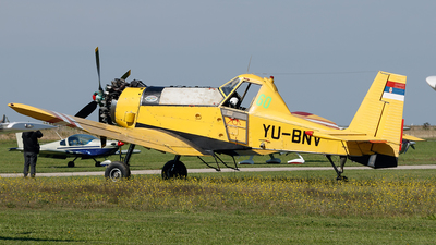 YU-BNV - PZL-Mielec M-18B Dromader - JAT Privredna Avijacija