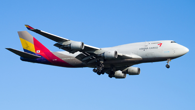 HL7618 - Boeing 747-446(BDSF) - Asiana Cargo