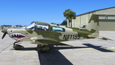 N81155 - Grumman American AA-5B Tiger - Private