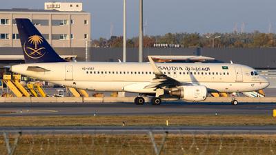 A picture of HZAS67 - Airbus A320214 - Saudia - © Lorenz Kafenda