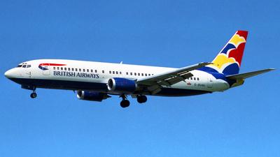 G-BUHL - Boeing 737-4S3 - British Airways (GB Airways)