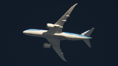 G-TUIE - Boeing 787-8 Dreamliner - Thomson Airways