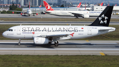 TC-JLU - Airbus A319-132 - Turkish Airlines