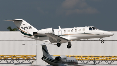 A picture of N715JS - Cessna 525A CitationJet CJ2 - [525A0129] - © Mark Lawrence