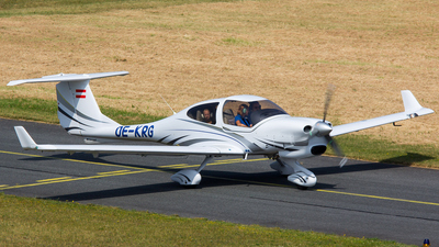 OE-KRG - Diamond DA-40 Diamond Star - Aviation Academy Austria
