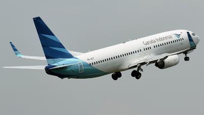 PK-GFF - Boeing 737-8U3 - Garuda Indonesia