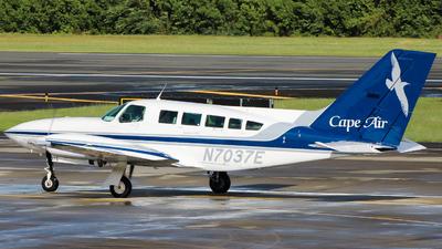A picture of N7037E - Cessna 402C - Cape Air - © Giovanni Segarra Ortiz