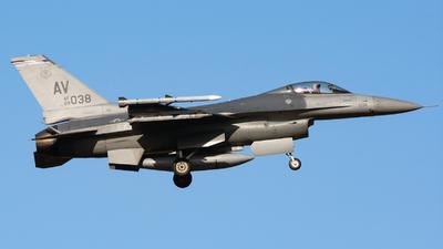 89-2038 - General Dynamics F-16CG Fighting Falcon - United States - US Air Force (USAF)