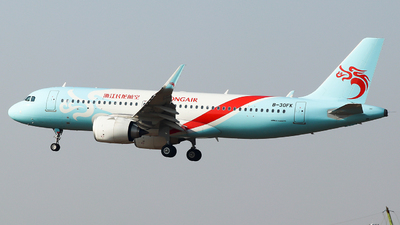A picture of B30FK - Airbus A320251N - Loong Air - © King Wang