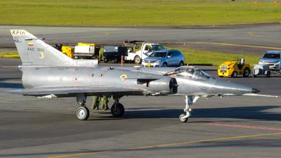 FAC3058 - IAI Kfir C12 - Colombia - Air Force