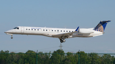 A picture of N14162 - Embraer ERJ145XR - United Airlines - © DJ Reed - OPShots Photo Team
