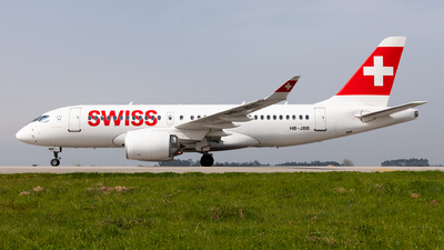 A picture of HBJBB - Airbus A220100 - Swiss - © Carlos Miguel Seabra