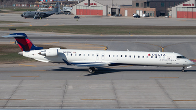 N831SK - Bombardier CRJ-900LR - Delta Connection (SkyWest Airlines)