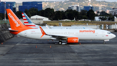 A picture of CGFEH - Boeing 7378GS - Sunwing Airlines - © Julio Letona