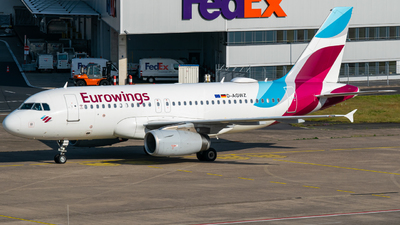 A picture of DAGWZ - Airbus A319132 - Eurowings - © Finnographie
