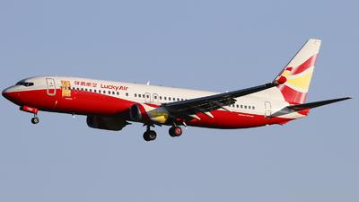 B-7990 - Boeing 737-8AL - Lucky Air
