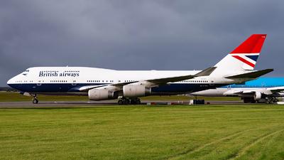 G-CIVB - Boeing 747-436 - British Airways