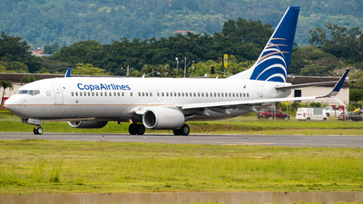 A picture of HP1839CMP - Boeing 7378V3 - Copa Airlines - © Alfredo La Red