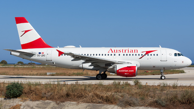 OE-LDC - Airbus A319-112 - Austrian Airlines