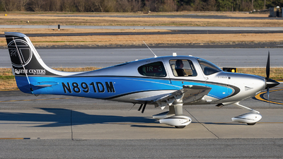 N891DM - Cirrus SR22-GTS Turbo - Private