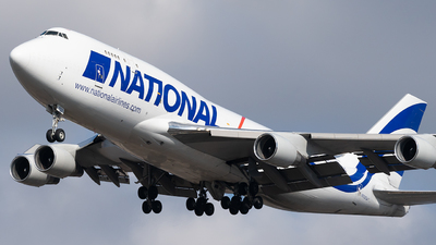 N702CA - Boeing 747-412(BCF) - National Airlines