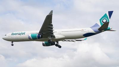 EC-LXA - Airbus A330-343 - Iberojet
