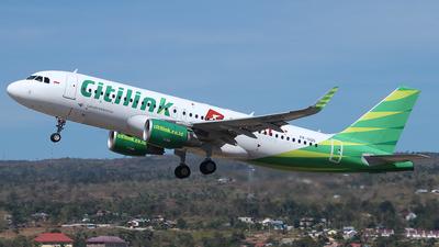 PK-GQG - Airbus A320-214 - Citilink