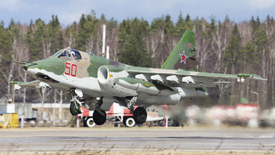 RF-95489 - Sukhoi Su-25SM Frogfoot - Russia - Air Force