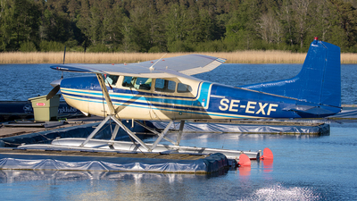 SE-EXF - Cessna 185D Skywagon - Private