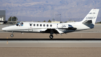 N380CF - Cessna 560 Citation Ultra - Private