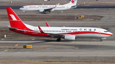 B-1451 - Boeing 737-89P - Shanghai Airlines