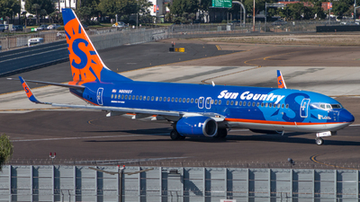 N809SY - Boeing 737-8Q8 - Sun Country Airlines
