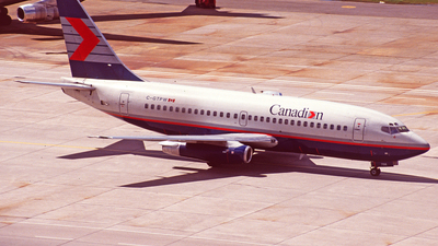 C-GTPW - Boeing 737-275(Adv) - Canadian Airlines International