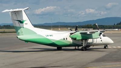 A picture of LNWIC - De Havilland Canada Dash 8100 - Wideroe - © Luca Bani