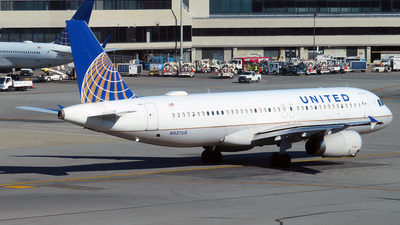 A picture of N437UA - Airbus A320232 - United Airlines - © n94504