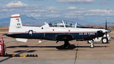 07-3887 - Raytheon T-6A Texan II - United States - US Air Force (USAF)