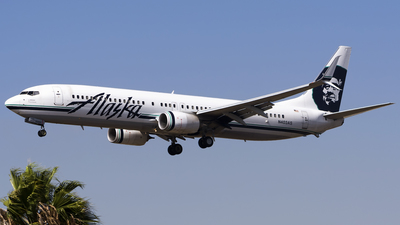A picture of N403AS - Boeing 737990(ER) - Alaska Airlines - © Stefan Alexandru