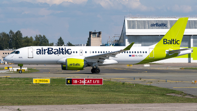 A picture of YLCSC - Airbus A220300 - Air Baltic - © Jevgeni Ivanov