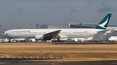 B-HNV - Boeing 777-31H - Cathay Pacific Airways