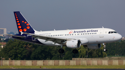 OO-SSE - Airbus A319-111 - Brussels Airlines