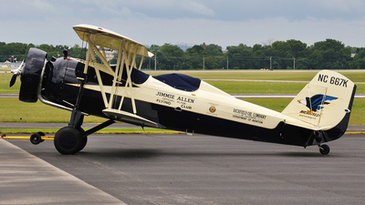 NC667K  - Stearman 4E - Private
