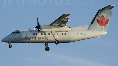 C-GONN - Bombardier Dash 8-102 - Air Canada Express (Jazz Aviation)