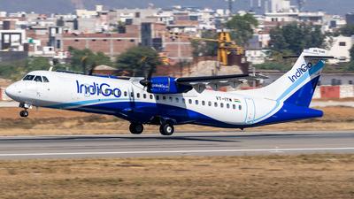 A picture of VTIYW - ATR 72600 - IndiGo - © Rohan Paliwal