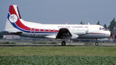 G-ATMI - Hawker Siddeley HS-748 Series 2A - Dan-Air London