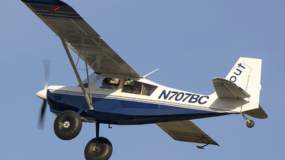 N707BC - American Champion 8GCBC Scout - Private