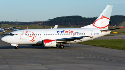G-BVZE - Boeing 737-59D - bmibaby