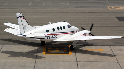 ZS-SGO - Beechcraft C90 King Air - Private