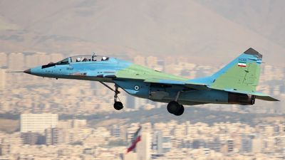 3-6306 - Mikoyan-Gurevich MiG-29UB Fulcrum - Iran - Air Force